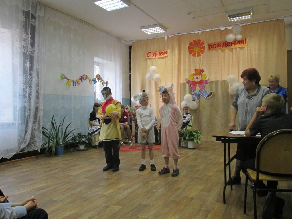 Поздравление детей в детском доме